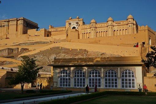 Amber Fort, Jaipur, India, Architecture, Travel