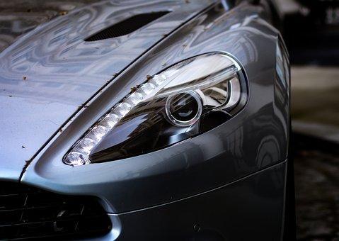 Aston Martin Vanquish, Aston Martin, Vanquish, Silver
