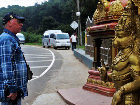 Indian, Hanuman, Travel, Sculpture, The Statue, Temple