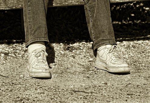 Person, Man, People, Leg, Foot, Shoe, Footwear