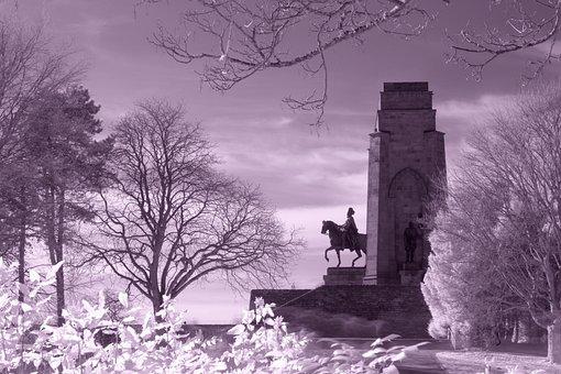 Infrared Filter, Monument, Hohensyburg, Landmark