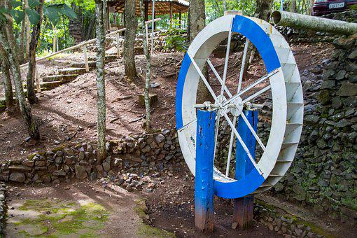 Outdoors, Wood, No Person, Wheel