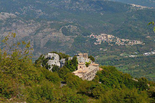 Panoramic, Nature, Hill, Architecture, Travel
