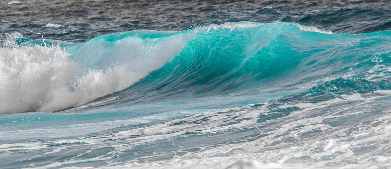 Water, Sea, Surf, Nature, Turquoise, Wave, Ocean, Foam