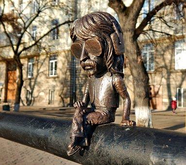 Sculpture, Art, Statue, Travel, Mini Sculpture, Ukraine