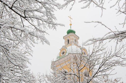 Winter, Snow, Tree, Coldly, Sky, Park