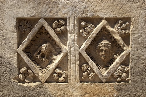 Ornament, Architecture, Old, Wall