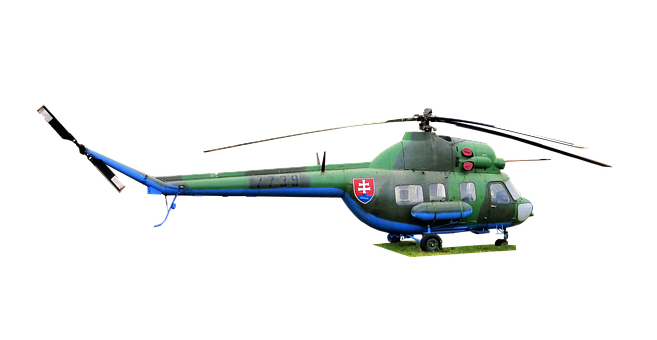 Transport, Either Helicopter, Vehicle, Army, Rotor, Sky
