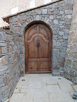 Wall, Architecture, Pierre, Threshold, Entry, Facade