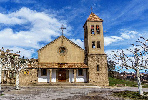 Architecture, Sky, Building, Religion, Old, Church