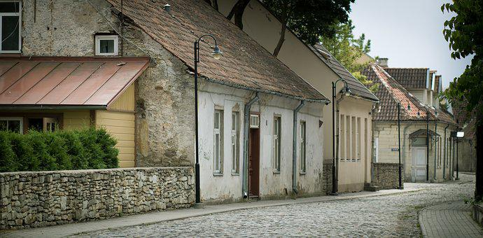 House, Architecture, Street, Door, Old, Window, Brick