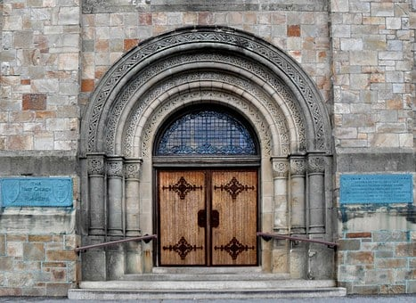 Plymouth Massachusetts, Church, Door, Architecture