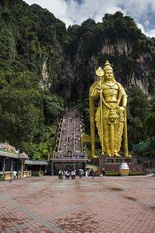 Batu, Caves, Mala, Malaysia, Lumpur, Kuala, Temple