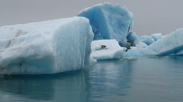 Iceland, Glacier, Cold, Ice, Blue, Arctic, Icelandic