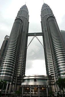 Petronas Towers, Kuala Lumpur, Malaysia, Building