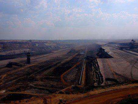 Garzweiler, Brown Coal, Mining, Open Pit Mining, Mine
