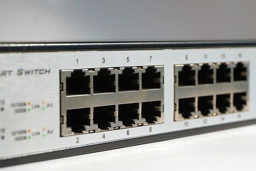 It, Switch, Network, Data Processing, Connection, Data