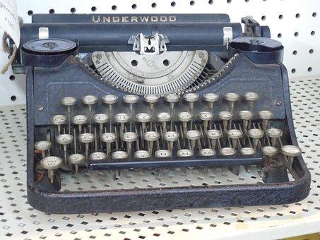 Typewriter, Typing, Vintage, Retro, Old, Type, Antique