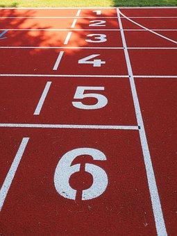 Starter, Career, Start Block, Numbers, Tartan Track