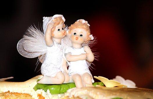 Birthday Cake, Wedding Cake, Surprise, Figures