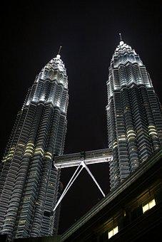 Twin Towers, Malaysia, City, Petronas, Building