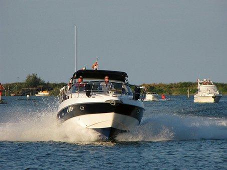 Powerboat, Boat, Speedboat, Motorboat