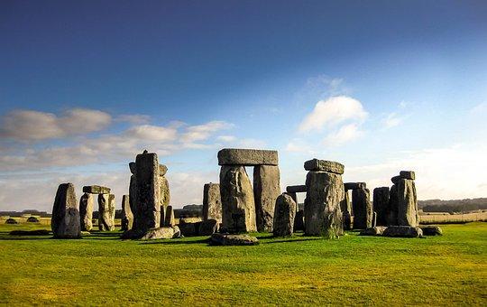 Monument, England, Nature, Stone, Circle, Stonehenge