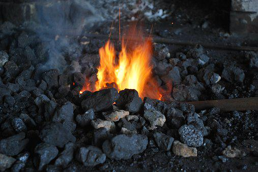 Craft, Blacksmith, Fire, Workshop, Forge, Tool, Old