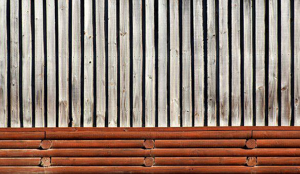Fence, Brown, Timber, Wood, Texture, Background, Lines