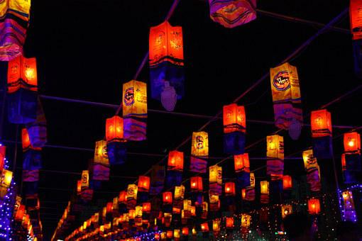 Oil Etc, Festival, Lights, Laterns, Paper, Ornament