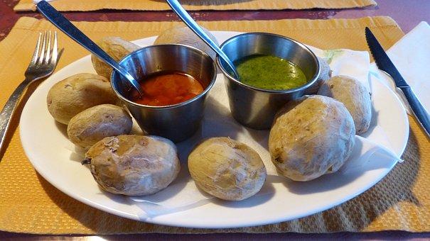 Potatoes, Wrinkly Potatoes, Starter, Dips, Sauces