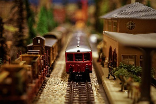 Model Train, Model Railway, Model, Railway, Train