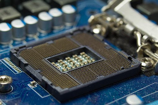 Cpu, Soket, Intel, Technology Circuit, Processor, Board