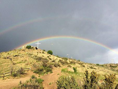 Boise, Tablerock, Double Rainbow, Rainbow