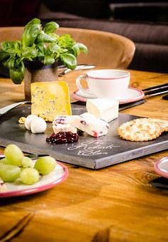 Cheese, Cheese Board, Dairy, Meal, Cuisine, Brie, Table