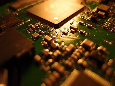 Computer, Board, Electronics, Solder Joint, Circuits