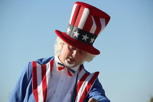 July 4th, American, Flag, Usa, Freedom, Patriotic