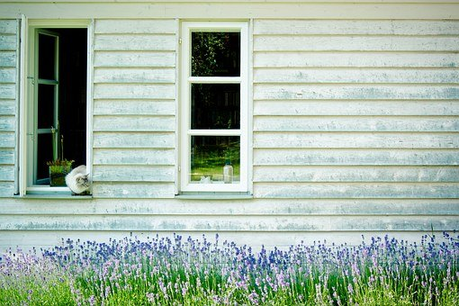 Timber Façade, Lattice Windows, Hauswand, Wooden Wall