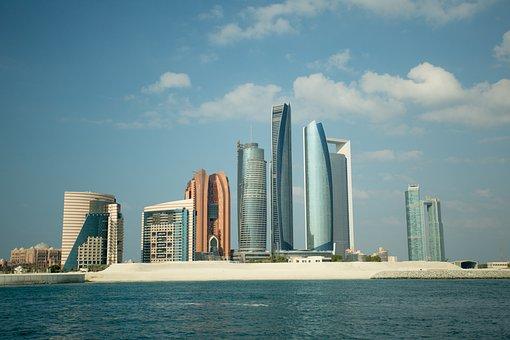 Abu Dhabi, City, Skyline, Emirates, Arab, Dhabi, Abu