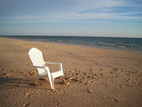 Florida, Beach, Deserted, Holiday, Sand Beach