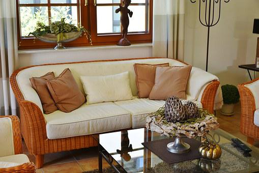 Living Room, Country House, Furniture, Home, Style