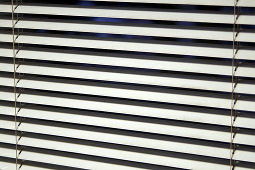 Blinds, Window, Office, Model, Lines
