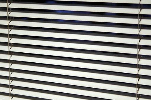 Blinds, Window, Office, Model, Lines