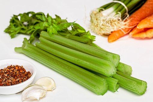 Soup Greens, Celery, Vegetables, Food, Healthy, Diet