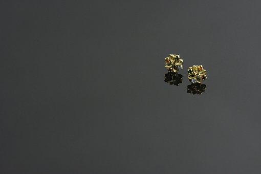 Earring, Background, Bijoux, Jewel