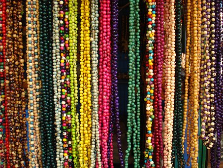 Necklaces, Bahia, Texture, Paste