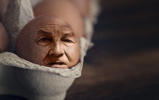Iman, Egg, Egg Face, Photoshop, Chicken Eggs, Face