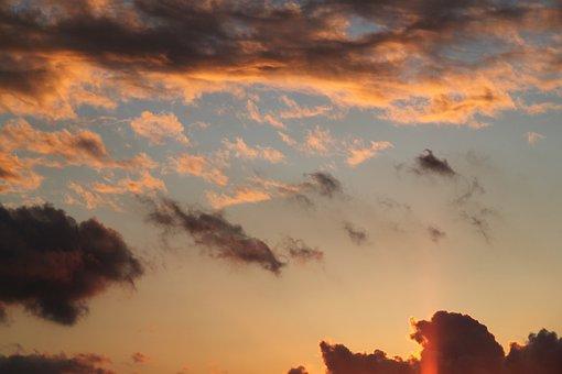 Cloud, Clouds, Solar, Summer, Sky, Landscape, Turkey
