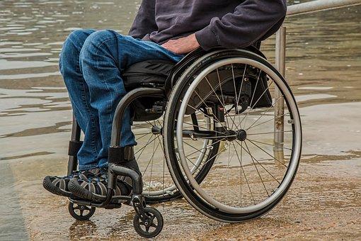 Wheelchair, Disability, Paraplegic, Injured, Disabled