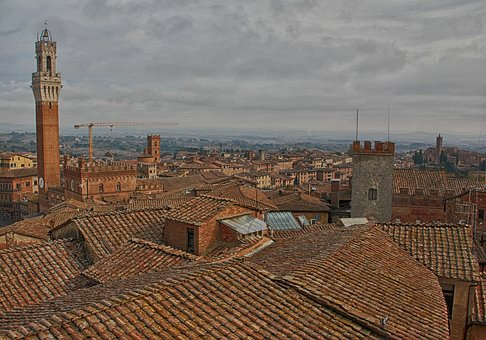 Roof, Italy, Italian, Building, Travel, Architecture